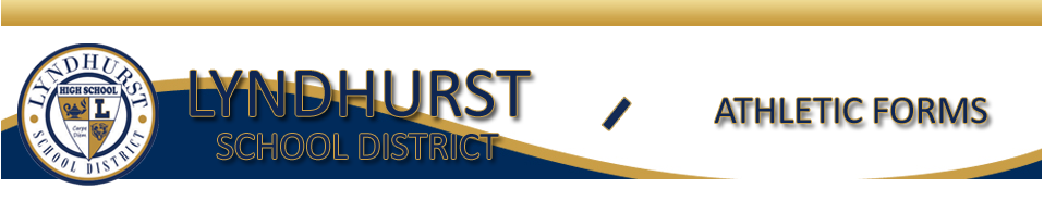 Lyndhurst High School Athletic Forms